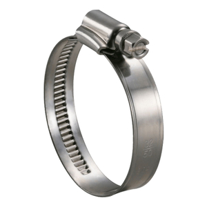 German Type Hose Clamps, Stainless Steel, Band Width 9mm