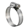 SS316 Stainless Steel Worm Gear Hose Clamps 9/16""